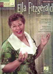 PRO VOCAL 12 - ELLA FITZGERALD + CD