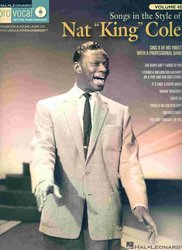 Hal Leonard Corporation PRO VOCAL 45 - NAT KING COLE + CD