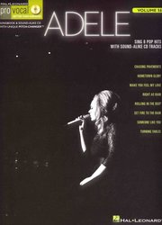 Hal Leonard Corporation PRO VOCAL 56 - ADELE + CD
