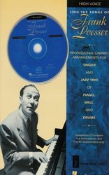 SING THE SONGS OF FRANK LOESSER + CD high voice