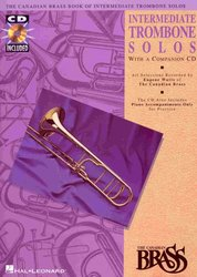 THE CANADIAN BRASS - INTERMEDIATE TROMBONE SOLOS + Audio Online / trombon a klavír