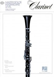 Hal Leonard Corporation MASTER SOLOS FOR CLARINET + CD / klarinet + piano