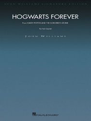 Hogwarts Forever (Harry Potter a Kámen mudrců) - John Williams - Horn Quartet / čtyři lesní rohy - partitura + party