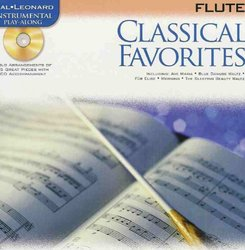 Hal Leonard Corporation CLASSICAL FAVORITES + CD / příčná flétna