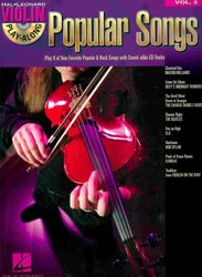 VIOLIN PLAY-ALONG 2  -  POPULAR SONGS + CD