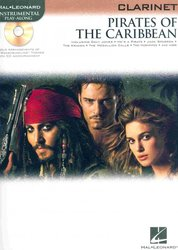 PIRATES OF THE CARIBBEAN + Audio Online / klarinet