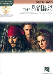 Hal Leonard Corporation PIRATES OF THE CARIBBEAN + CD / altový saxofon