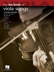 Big Book of Viola Songs / viola