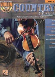 VIOLIN PLAY-ALONG 8 - COUNTRY CLASSICS + CD