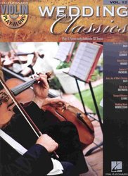 Violin Play-Along 12 - WEDDING CLASSICS + CD
