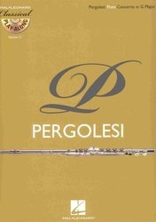 CLASSICAL PLAY ALONG 11 - Pergolesi: Flute Concerto in G Major + CD