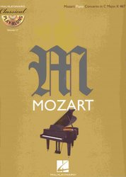 Hal Leonard Corporation CLASSICAL PLAY ALONG 17 - Mozart: Piano Concerto in C Major, K467