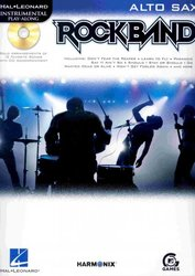 Hal Leonard Corporation ROCKBAND + CD alt saxofon