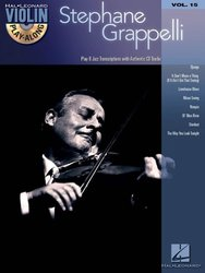 VIOLIN PLAY-ALONG 15 - STEPHANE GRAPPELLI + Audio Online