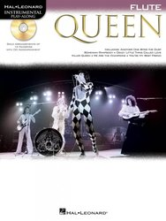 Hal Leonard Corporation QUEEN + CD / flétna