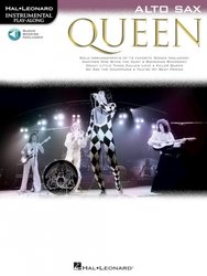 QUEEN + CD / alt saxofon
