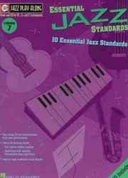 Hal Leonard Corporation JAZZ PLAY ALONG 7 -  JAZZ STANDARDS  +  CD