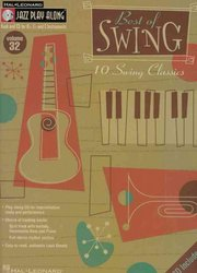 Hal Leonard Corporation JAZZ PLAY ALONG 32  -  BEST OF SWING + CD