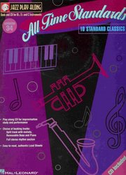 Hal Leonard Corporation JAZZ PLAY ALONG 34 - ALL TIME STANDARDS + CD