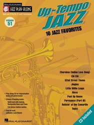Hal Leonard Corporation JAZZ PLAY ALONG 51 - Up-Tempo Jazz  + CD