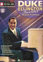 Hal Leonard Corporation JAZZ PLAY ALONG 88 - DUKE ELLINGTON + CD