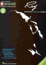 Hal Leonard Corporation JAZZ PLAY ALONG 94 - RAY CHARLES + CD