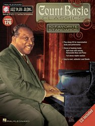Hal Leonard Corporation JAZZ PLAY ALONG 126 - Count Basie Classics  + CD