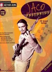 Hal Leonard Corporation JAZZ PLAY ALONG 116 -  Jaco Pastorius + CD