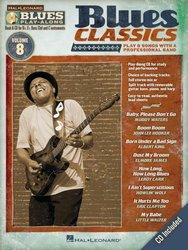 BLUES PLAY ALONG 8 - BLUES CLASSICS + CD