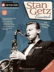 Jazz Play Along 132 - Stan Getz Essentials + CD