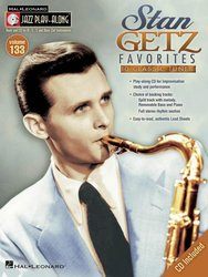 Jazz Play Along 133 - STAN GETZ Favorites + CD