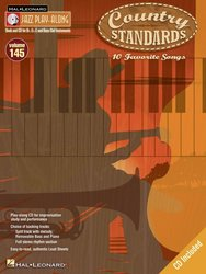 Hal Leonard Corporation JAZZ PLAY ALONG 145 - COUNTRY STANDARDS + CD