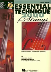 Essential Technique for Strings + CD violin book 3 / housle