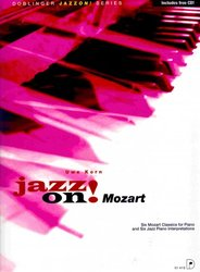 JAZZ ON! - MOZART + CD / sólo klavír