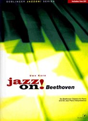 JAZZ ON! - BEETHOVEN + CD / sólo klavír