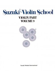 SUZUKI VIOLIN SCHOOL volume 9 - violin part