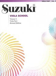 Suzuki Viola School, volume 5 - viola part