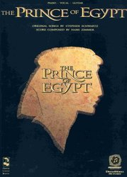 Cherry Lane Music Company PRINCE OF EGYPT music from the motion pictures        klavír/zpě