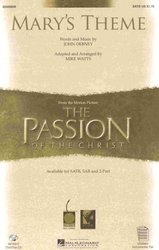 MARY'S THEME (The Passion of The Christ) / SATB*