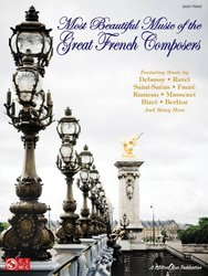 Cherry Lane Music Company Most Beautiful Music of the Great French Composers - easy piano