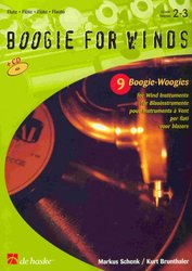 BOOGIE FOR WINDS + CD / příčná flétna