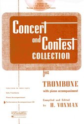 RUBANK CONCERT&CONTEST COLLECTIONS for Trombone  - CD s klavírním doprovodem