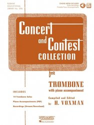 CONCERT & CONTEST COLLECTIONS + Audio Online / trombon + klavír (PDF)