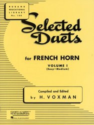 RUBANK Selected Duets for French Horn 1 (easy - medium) / Vybraná dueta pro lesní rohy 1