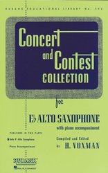 CONCERT & CONTEST COLLECTIONS for Alto Sax - solový sešit
