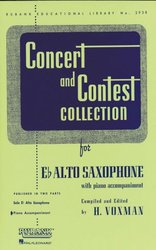 CONCERT & CONTEST COLLECTIONS for Alto Sax - klavírní doprovod