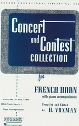 CONCERT & CONTEST COLLECTIONS for F Horn - solový sešit