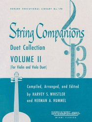 String Companions 2 - Duet Collection for Violin + Viola / dueta pro housle a violu