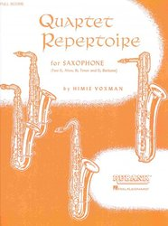 QUARTET REPERTOIR FOR SAXOPHONE(AATB) partitura