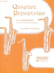 QUARTET REPERTOIR FOR SAXOPHONE(AATB) party (4 ks)